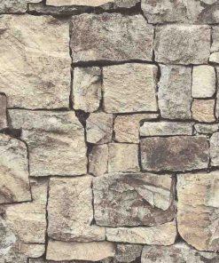 giấy dán tường giả gạch 85016-1