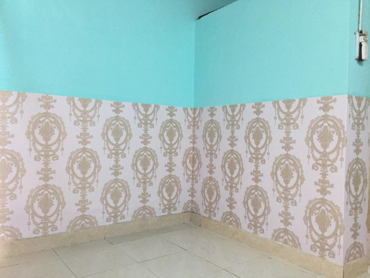 giấy dán tường phòng trọ