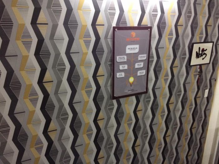 Giấy dán tường 3d cho phòng ngủ