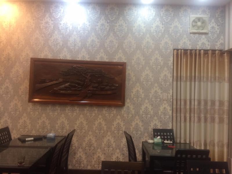 Mẫu giấy dán tường phòng ngủ
