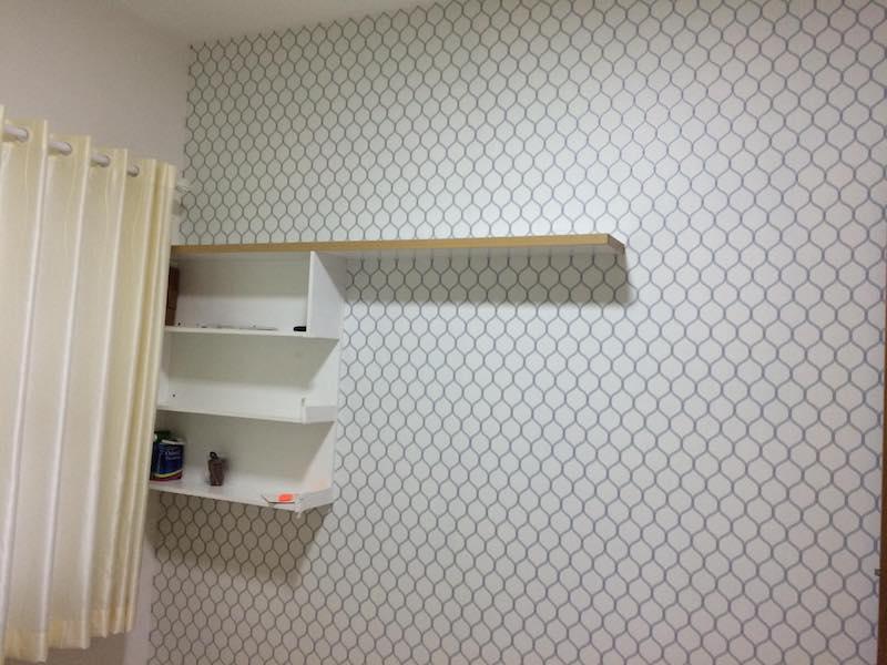 giấy dán tường trang trí phòng ngủ