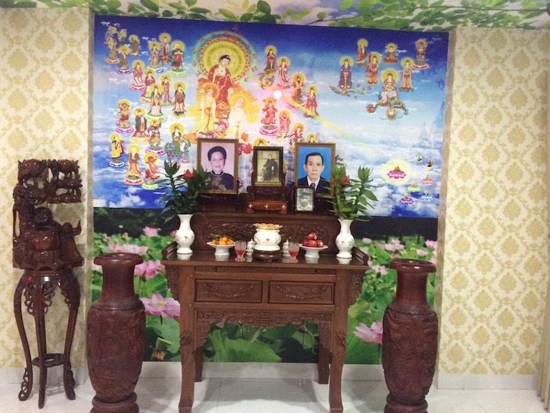 tranh 3d phòng thờ